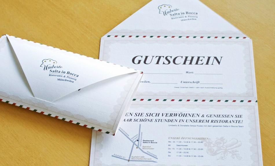 Restaurant & Pizzeria Salta in Bocca | Gutschein